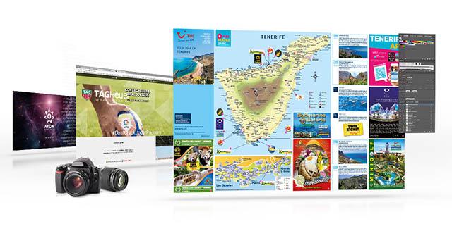 Diseno grafico, publicidad, paginas web, fotografia,  tenerife