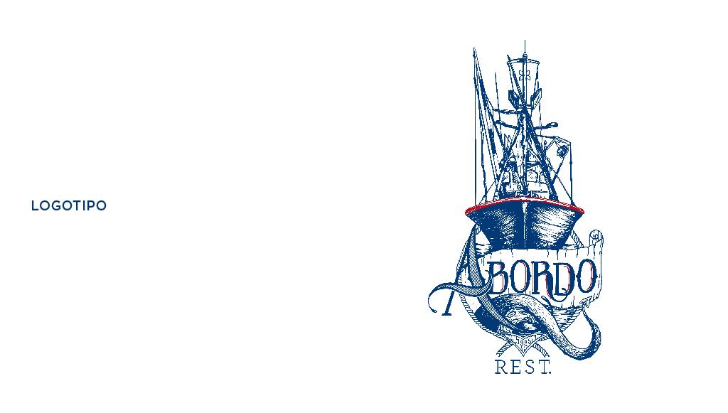 Restaurante Abordo, Diseño gráfico Tenerife, logotipo, creatividad, Más que Mapas