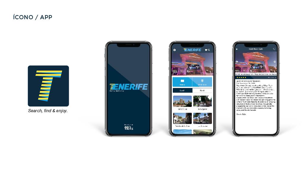 Diseño gráfico Tenerife,Tenerife App, Más que Mapas