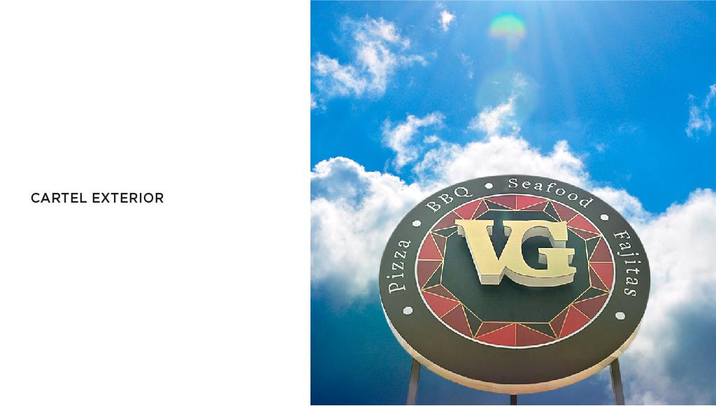 Diseño gráfico Tenerife,Restaurante Vegas Grill, Más que Mapas