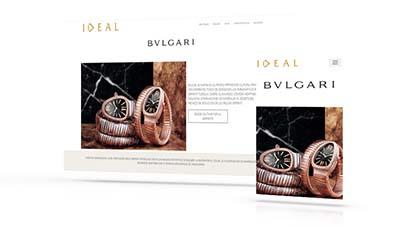 Ideal Joyeros - BVLGARI, Páginas Web Tenerife