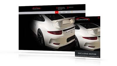 Exclusive Motors Tenerife, Páginas Web Tenerife