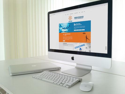 Ayon Coaching Tenerife, Páginas Web