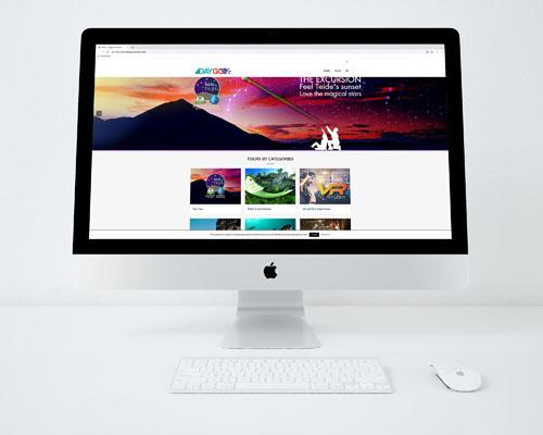 DayGo Excursions. Diseño páginas web en Tenerife, Más que Mapas