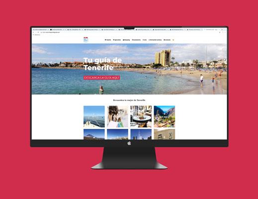Free Pocket Guide. Diseño Web Tenerife Más que Mapas.