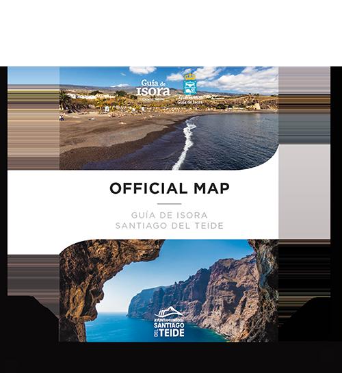 Productos Más que Mapas. Mapa Oficial G&uiacute;a de Isora