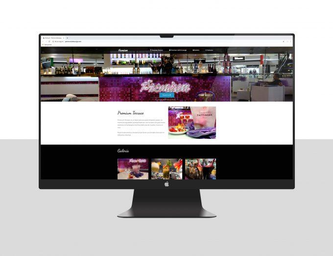 Premium Terrace Tenerife. Diseño páginas web