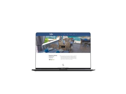 Restaurante Salitre, Diseño páginas web Tenerife,  Más que Mapas