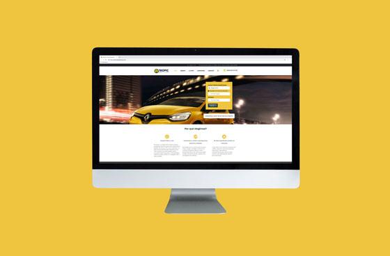 Tropic Rent a Car. Diseño Web Tenerife Más que Mapas.